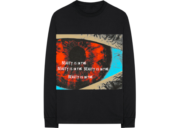 Travis Scott Eye L/S Tee Black