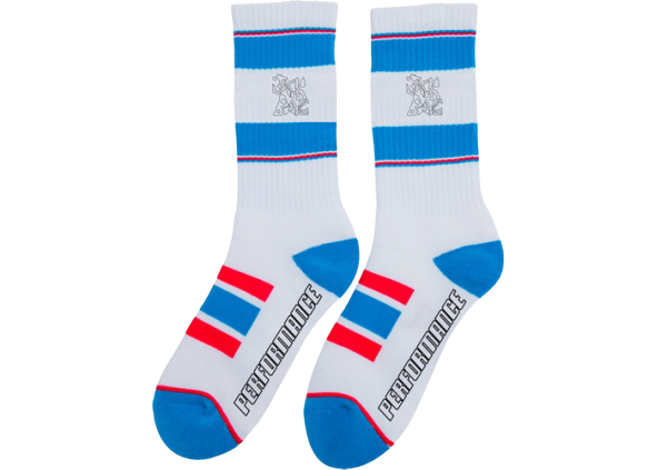 Travis Scott JACKBOYS Socks White/Blue/Red