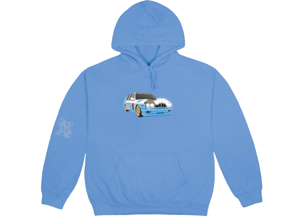 Travis Scott JACKBOYS Vehicle Hoodie Blue