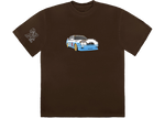 Travis Scott JACKBOYS Vehicle T-Shirt Brown