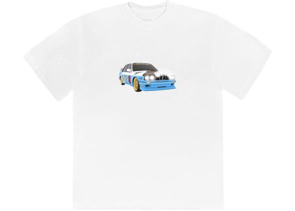 Travis Scott JACKBOYS Vehicle T-Shirt White