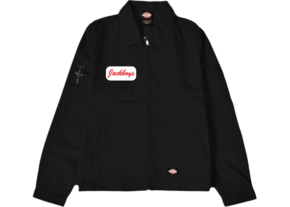 Travis Scott JACKBOYS Work Jacket Black