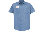 Travis Scott JACKBOYS Work Shirt Blue