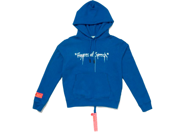 Virgil Abloh x Simon Brown OFF-WHITE MCA Figures of Speech Hoodie Blue