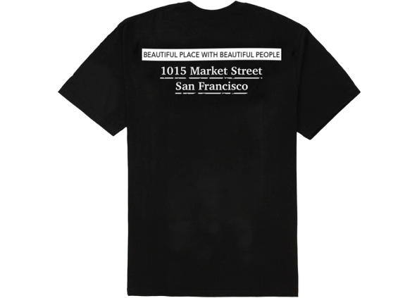 Supreme San Francisco Box Logo Tee Black