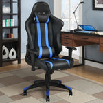 High Back Racing Style Gaming Chair- Blue