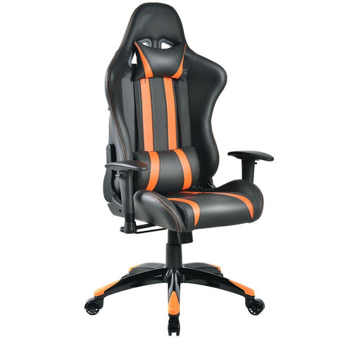 Racing High Back Reclining Gaming Chair- Orange