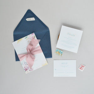 Protea Wedding Invitation Suite