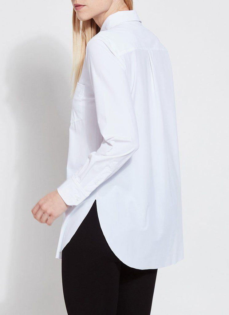 Schiffer Shirt | White - Fox Trot Boutique