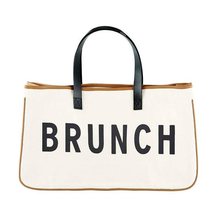 Brunch Canvas Tote - Fox Trot Boutique
