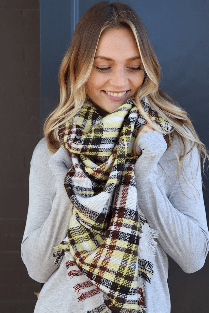 Blanket Scarves - Fox Trot Boutique