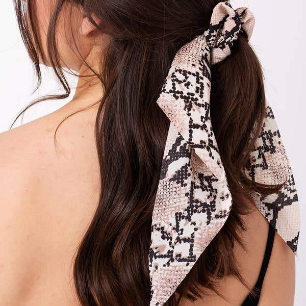 Ponytail Hair Scarf - Fox Trot Boutique