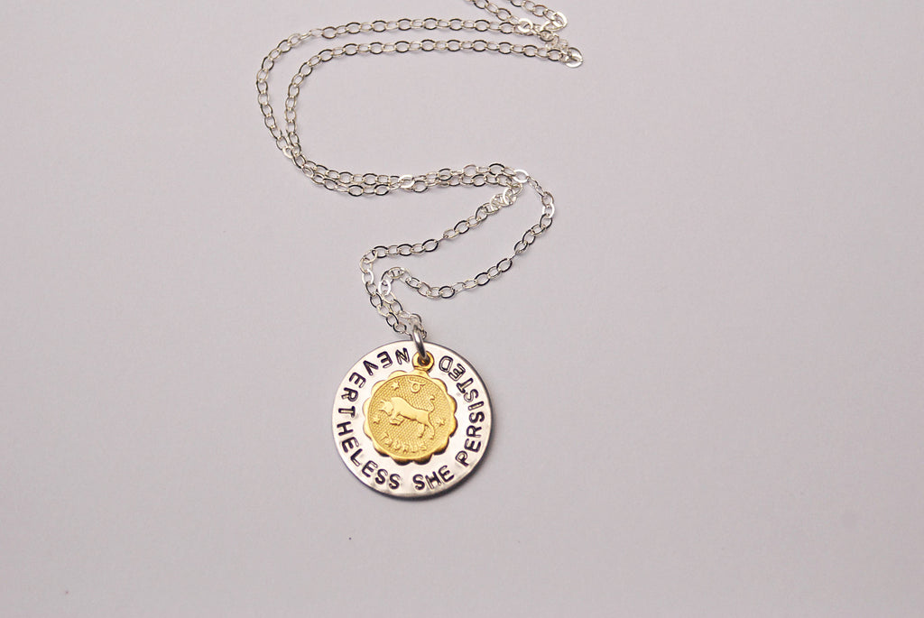 Zodiac Personality Charm Necklace