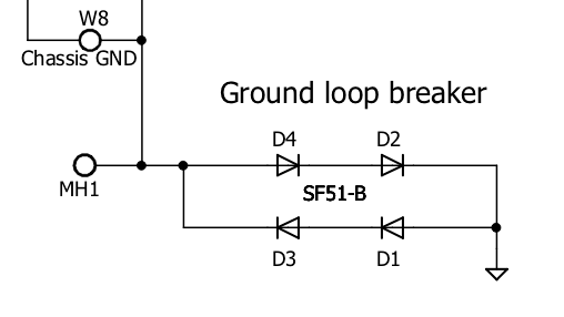 Grounding an audio amplifier - electrical safety