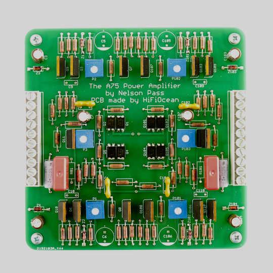 A75 Class A MOSFET Power Amplifier Front End Board
