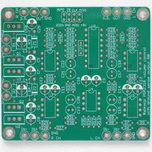 PGA2310 Balanced Digital Volume Control Board with Ground Sensing