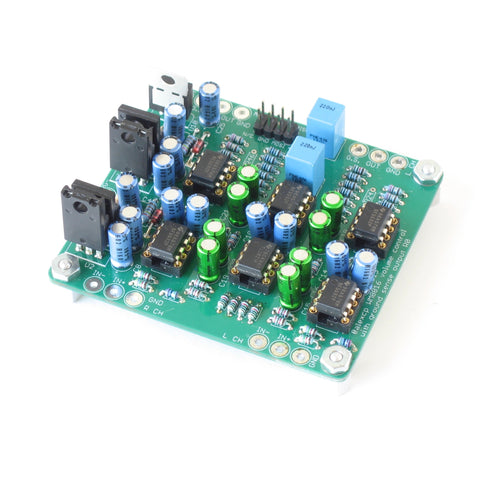 WM8816/MAS6116 Balanced Digital Volume Control Board with Ground Sensing