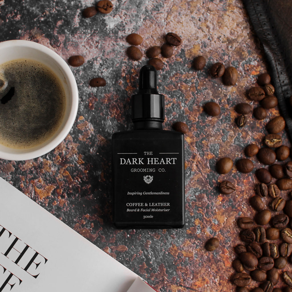 FACE & BEARD MOISTURISER | COFFEE & LEATHER