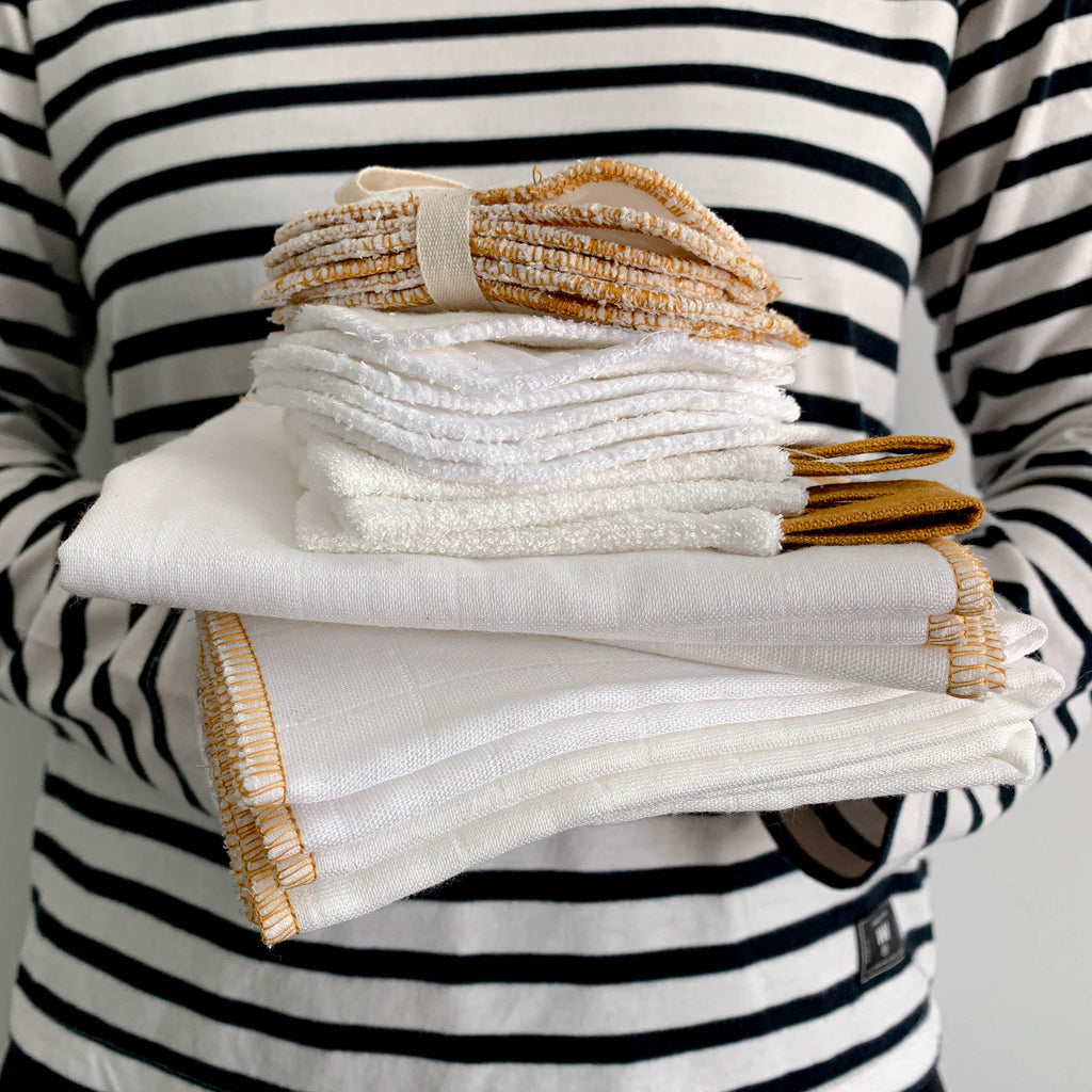 REUSABLE BABY WIPES | BAMBOO 8 PACK