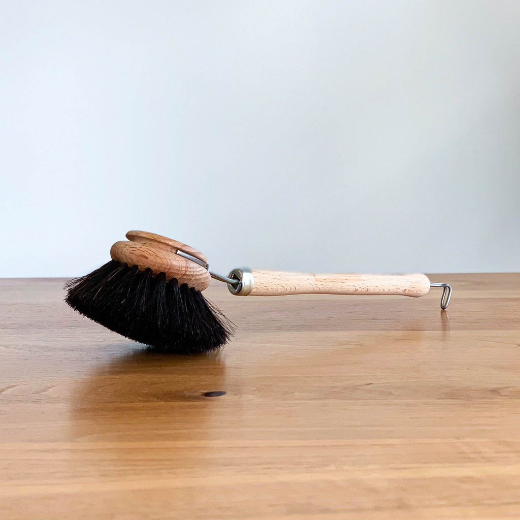 WOODEN DISH BRUSH | BLACK | SOFT