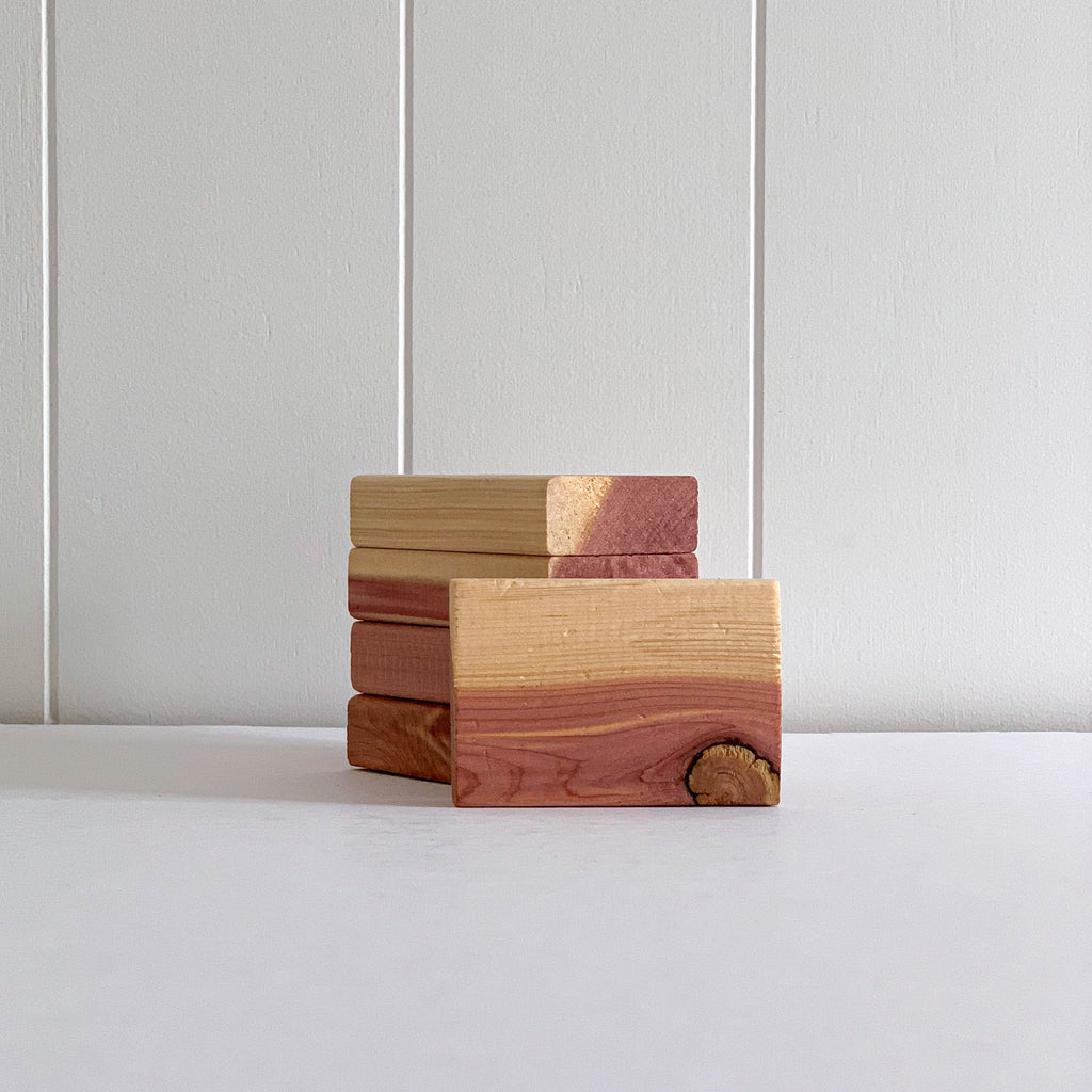 RED CEDAR BLOCKS | 5 PACK