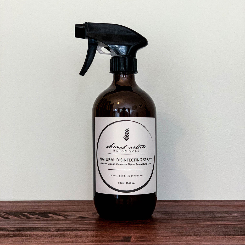 ORGANIC CLEANING SPRAY | SECOND NATURE BOTANICALS