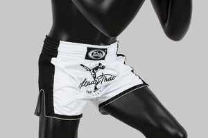 BS1707 - Muay Thai Shorts White