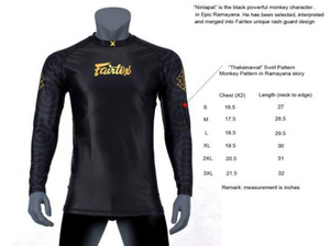 "RG6 - Rashguard ""Ninlapat"" Long Sleeves"