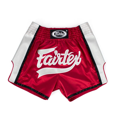 BS1704 - Muay Thai Shorts Red/White