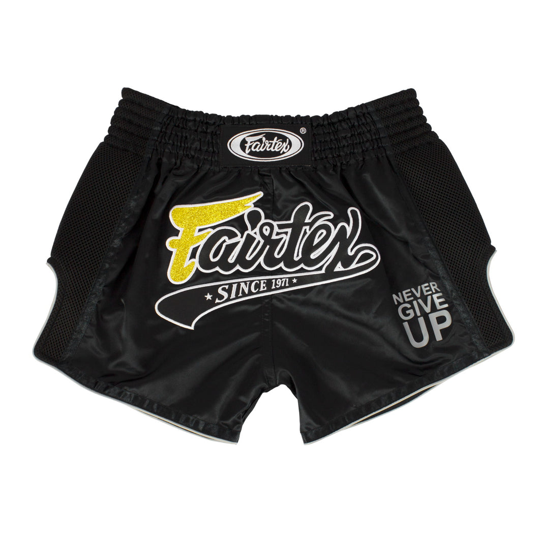 BS1708 - Muay Thai Shorts Black