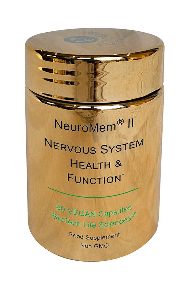 2 - Brain & Neuron Health - Contributes To Normal Nervous System Function NeuroMem BioTech Life Sciences