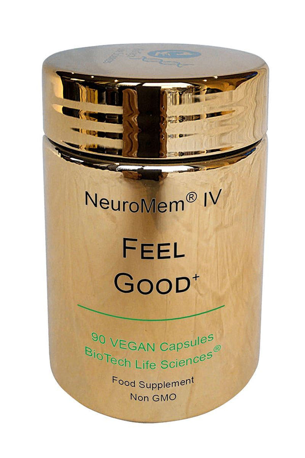 4 - Feel Good & Adrenal Support - Helps Calm & Clear the Mind NeuroMem BioTech Life Sciences