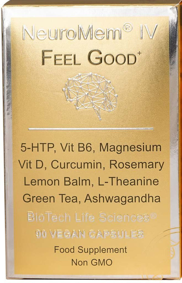 4 - Feel Good & Adrenal Support - Relaxation, Calm & Clear NeuroMem BioTech Life Sciences