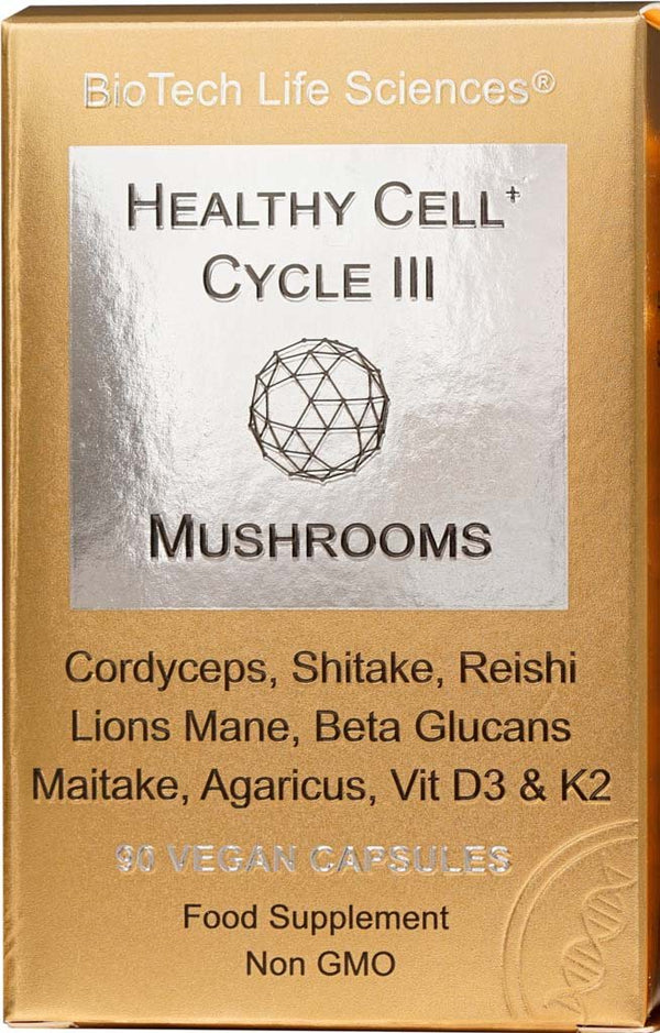 Cell 3 - Mushroom Complex Healthy Cell Cycle BioTech Life Sciences