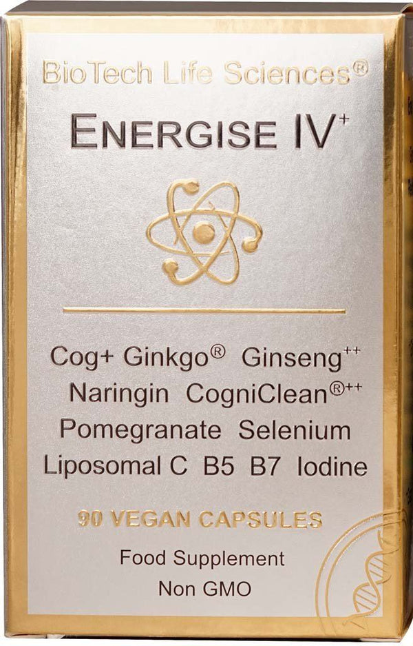 E4 – Nervous System, Cognitive Function & Mental Performance, Ginseng Ginkgo Biloba & CogniClean TheraStemCell ENERGISE BioTech Life Sciences