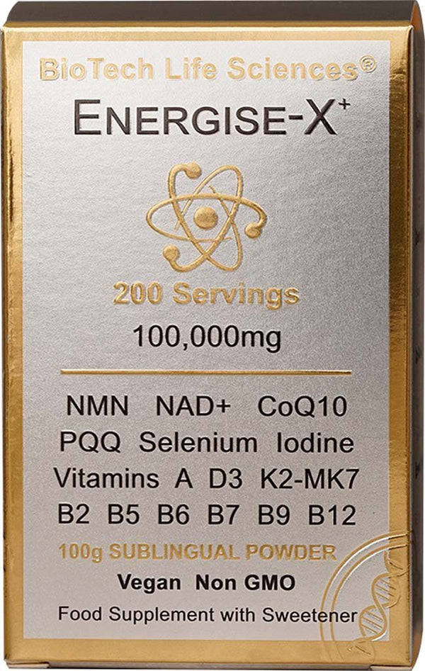 Energise-X : Increase Energy, Reduce Tiredness & Fatigue (Powder) TheraStemCell ENERGISE BioTech Life Sciences