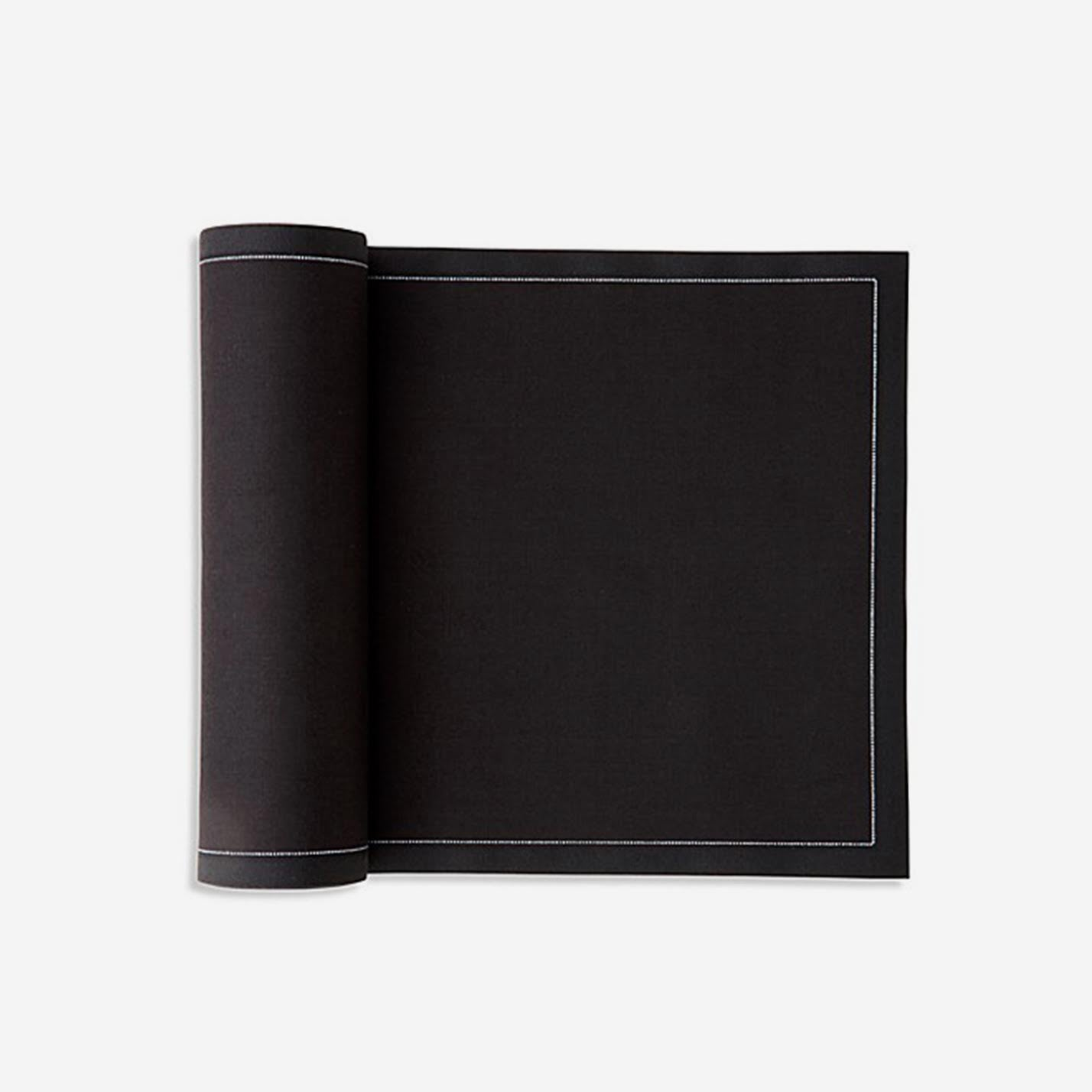 Cotton Dinner Napkins Black