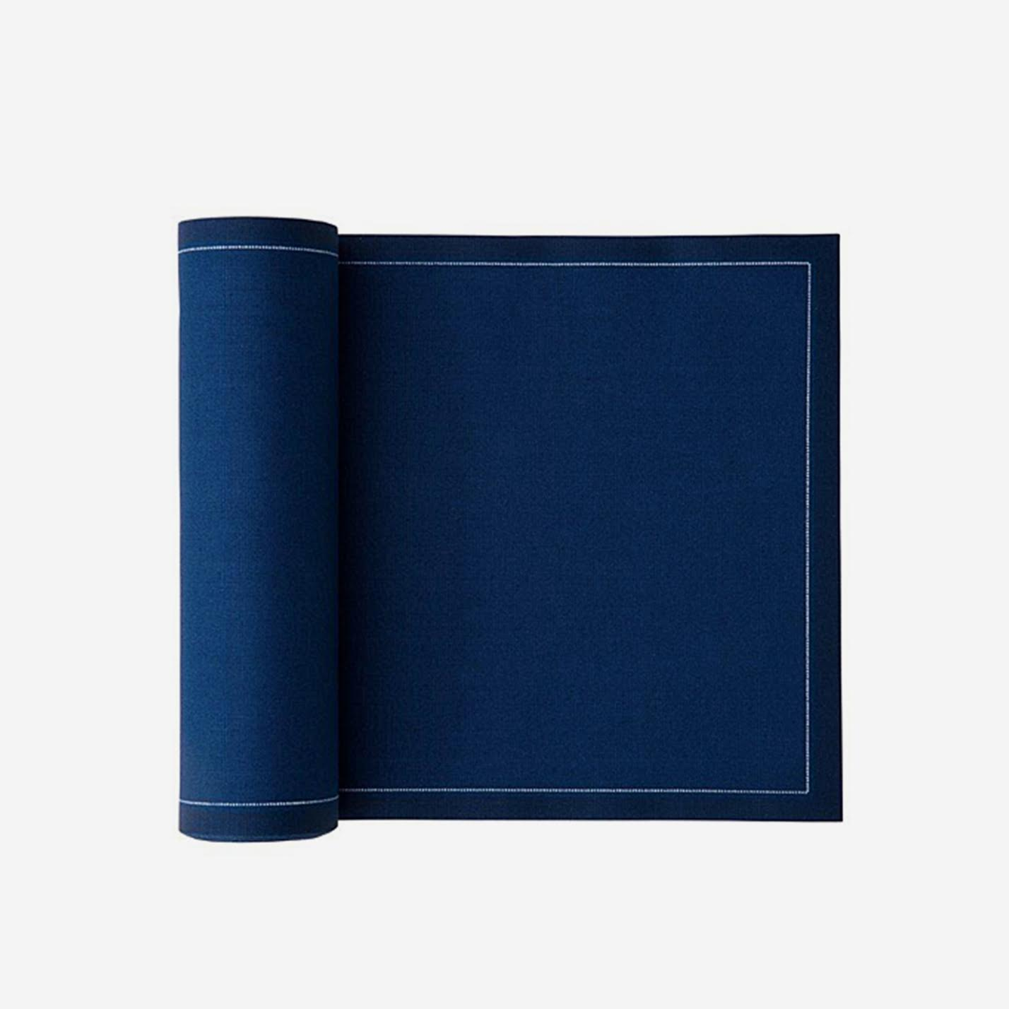 Cotton Dinner Napkins Midnight Blue
