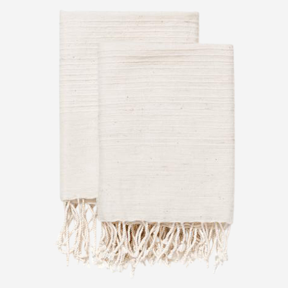 Natural Riviera Hand Towel