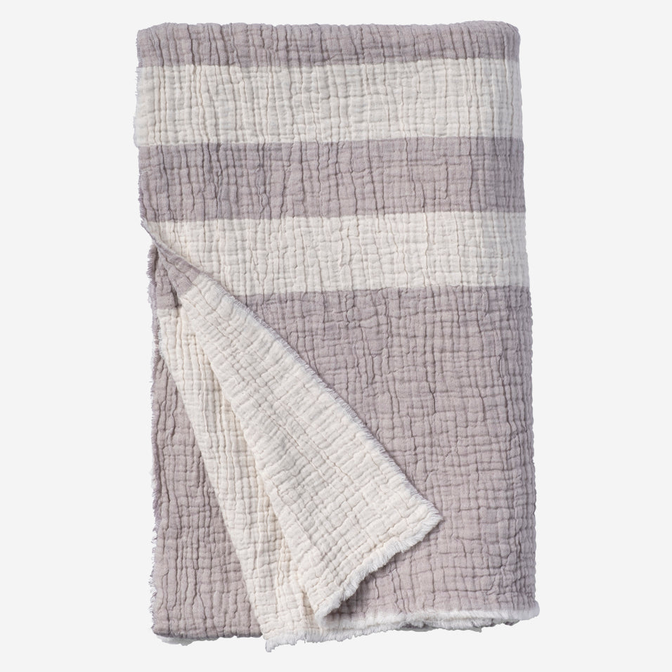 Racing Stripe Reversible Throw