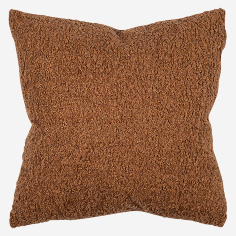 Teddy Throw Pillow Saddle