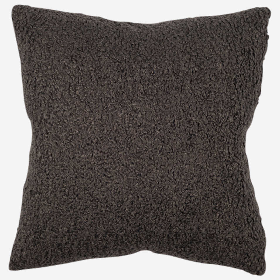 Teddy Throw Pillow Slate