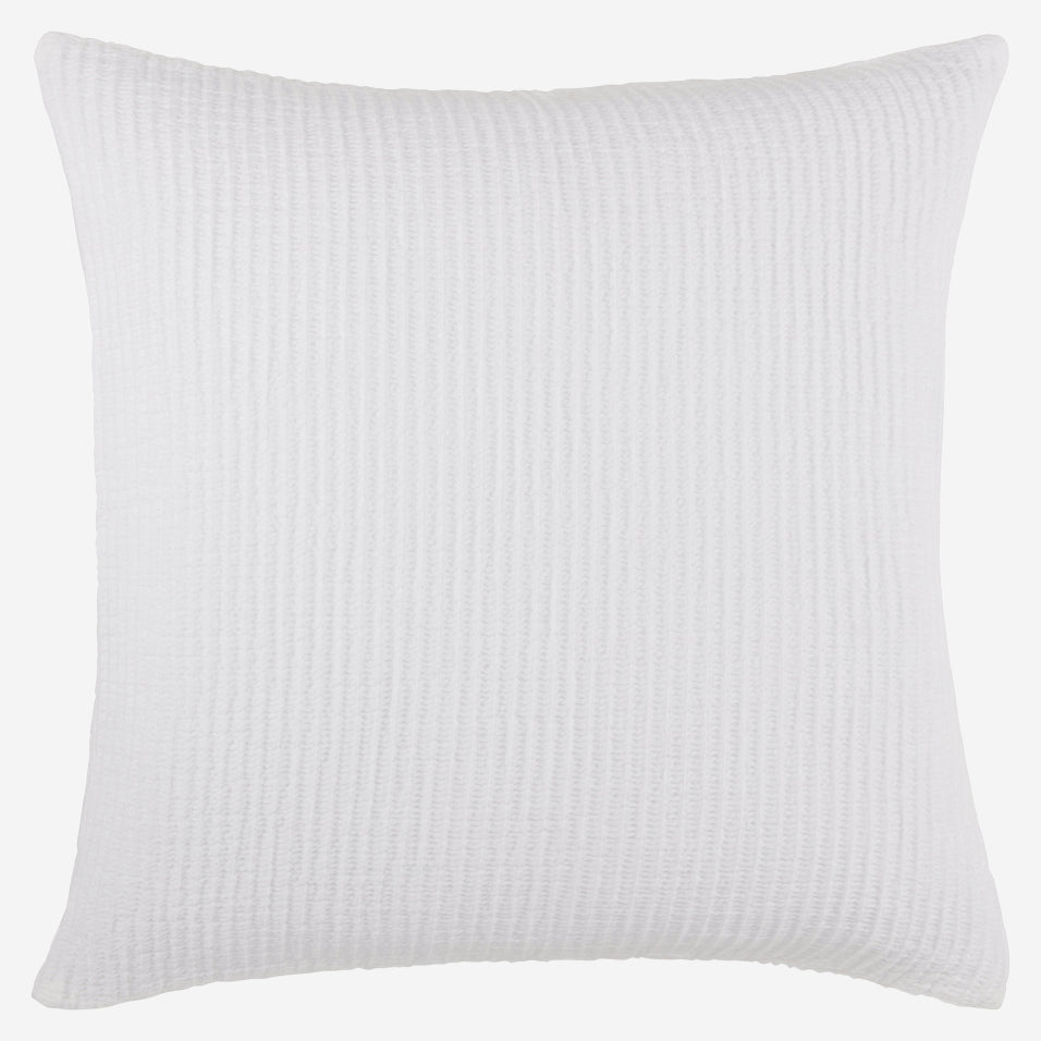 Madrid Throw Pillow White