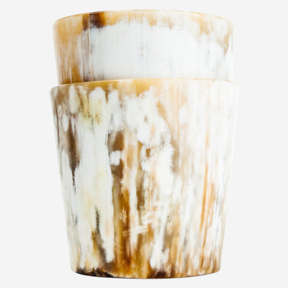 Ankole Horn Cocktail Tumblers (Set of 2)