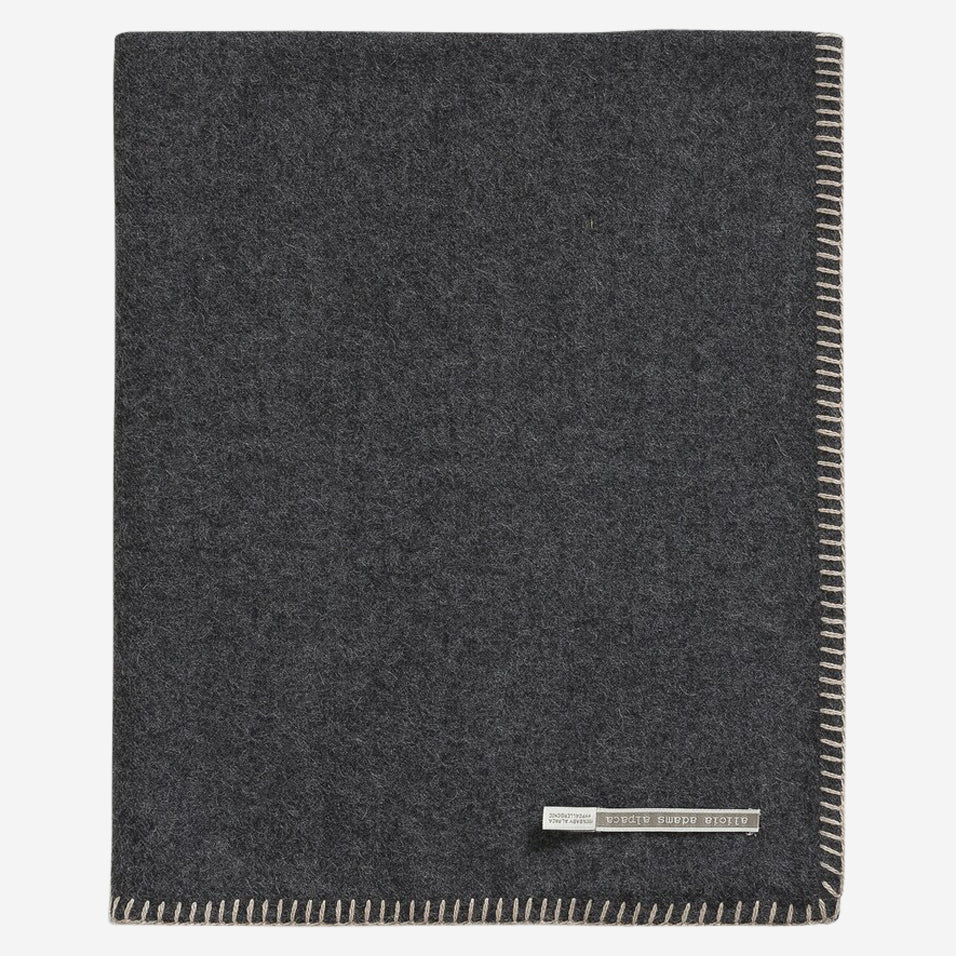 Arena Travel Blanket Charcoal / Light Taupe