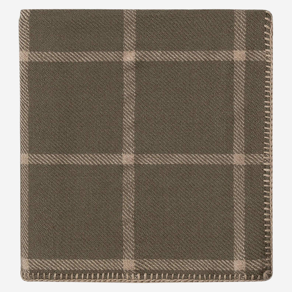 Graydon Throw Moss / Light Taupe