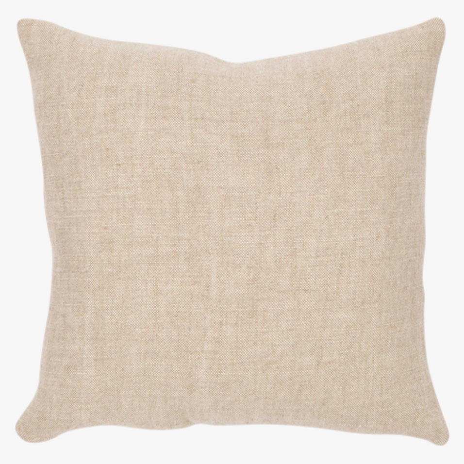 Riley Throw Pillow Oatmeal