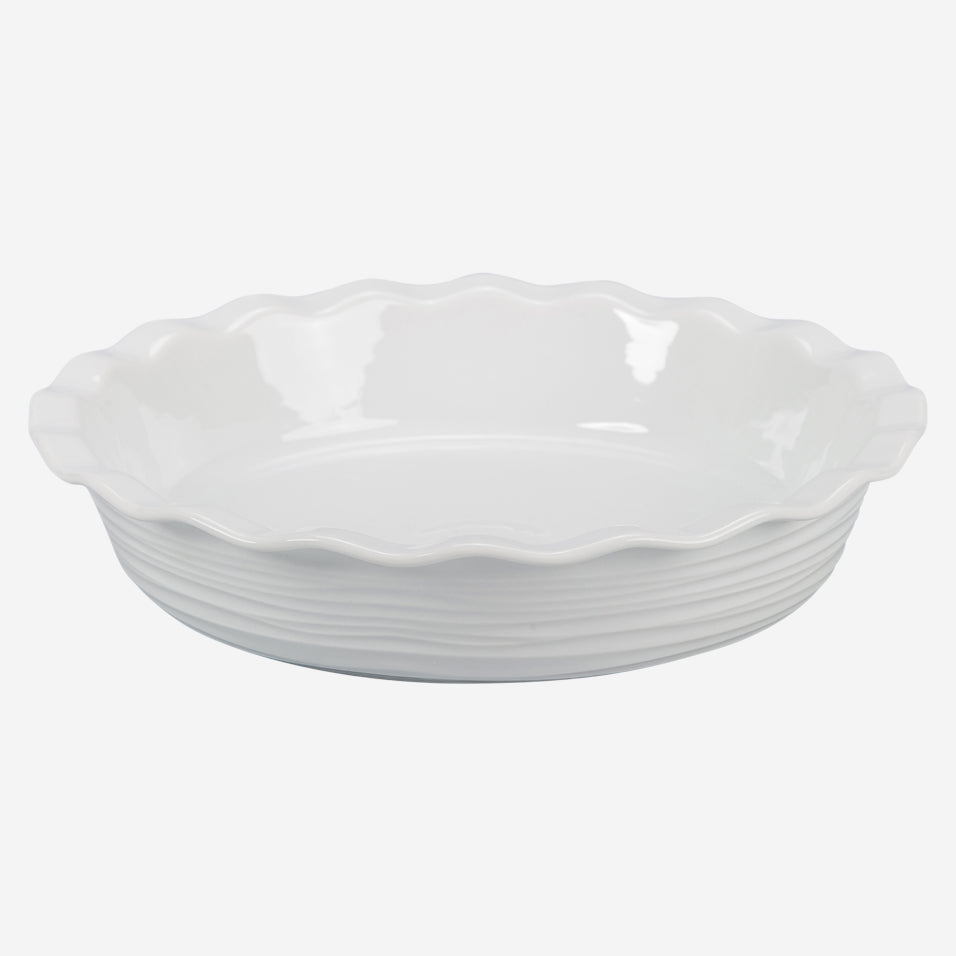 Deep Fluted Pie Dish