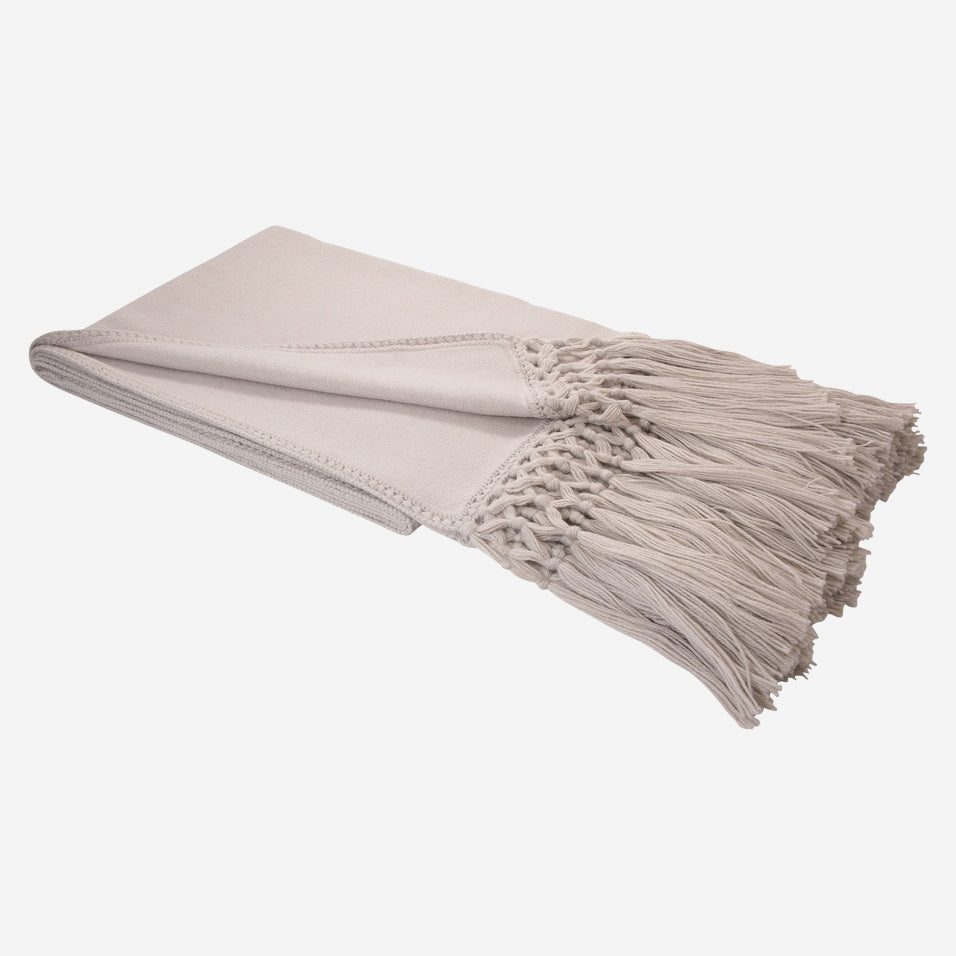 Cool Baby Alpaca Woven Throw