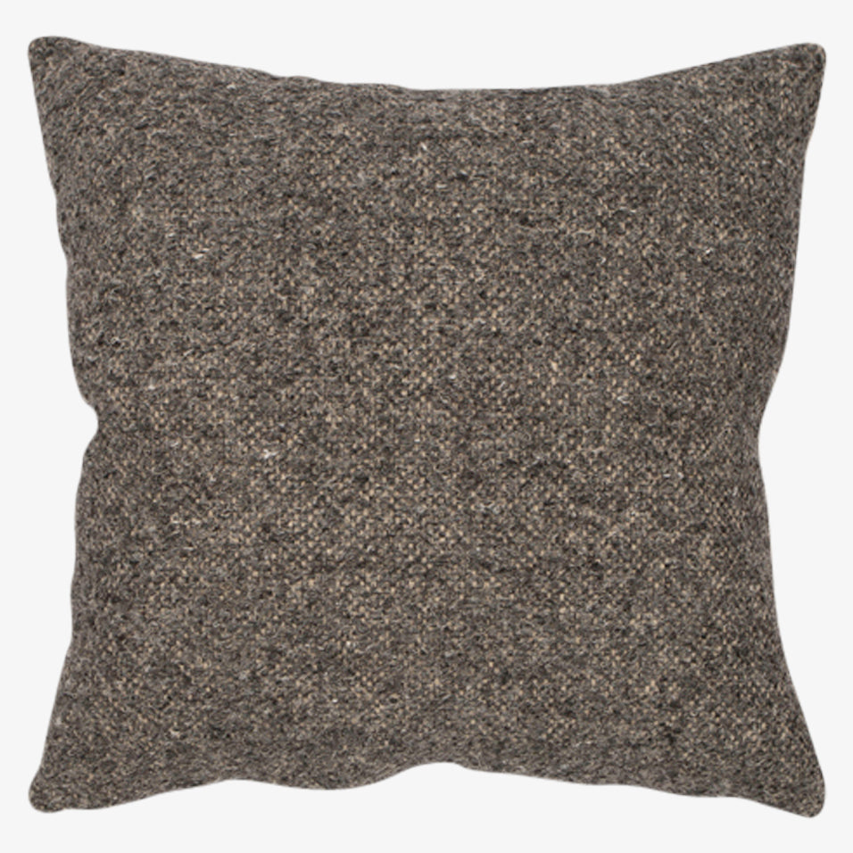 Riley Throw Pillow Charcoal